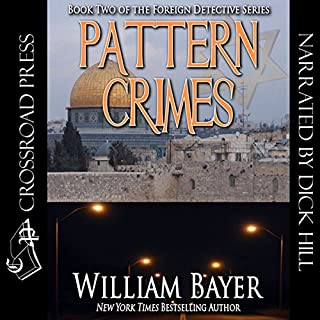 Pattern Crimes audiobook cover art