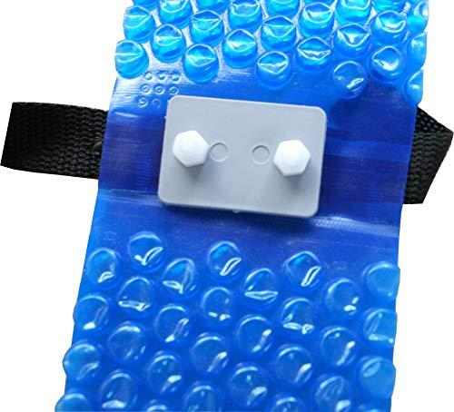 SPIRATO Haltebänder Bänderset für Pool Solarnoppenfolie Abdeckplanen 5-er Set