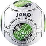 JAKO Ballon d'entraînement Match de Football 5 Blanc/Noir/Vert