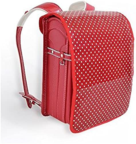 Exciting school satchel cover polka dot, rot x rot made in Japan (japan import)