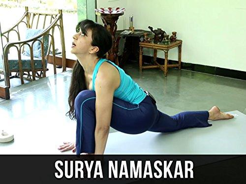 Surya Namaskar or Sun Salutation Simple Yoga Lessons With AJ