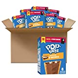 Pop-Tarts, Breakfast Toaster Pastries, Frosted S'mores, 6.772lb Case (32 Count)