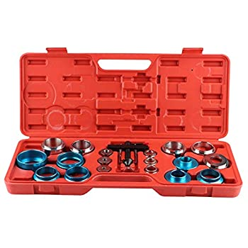20pcs Camshaft Crank Camshaft Oil Seal Remove Installation Tool Set Camshaft Oil Seal Remover Installer Crank and Cam Seal Kit