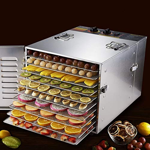 Great Price! Tool Parts new Household 10 Tray stainless steel Fruits and vegetables food drying mach...