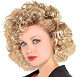 SUIT YOURSELF Sandy Grease Curly Costume Wig...