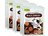 Roscela Chocolate Flavoured Tablet Malt Candy Healthy Chewy Kids Yummy Sweetened 20g, Pack of 6,