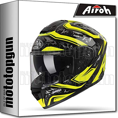 CASCO AIROH ST.501 BLADE RED GLOSS S