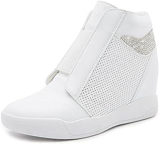 LIURUIJIA Zapatos de cuña Oculto de Las Mujeres de Plataforma de tacón Alto de Moda de causales