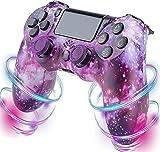 Nuiik-C22x Cool Controller para PS4, Playstation 4 Game Controller con Doble vibración y Cable de Carga/Compatible con PS4 / PS4 Pro / PS4 Slim (Color : 4K)