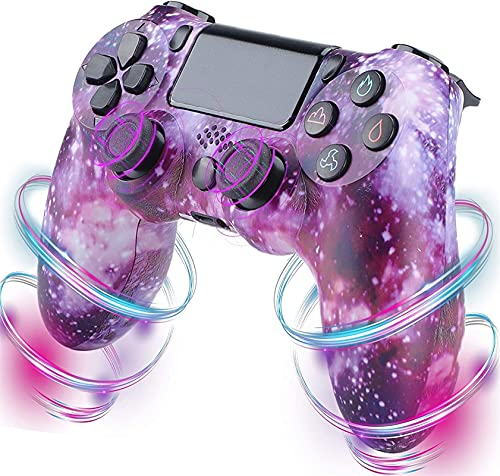 Nuiik-C22x Cool Controller para PS4, Playstation 4 Game Controller con Doble vibración y Cable de Carga/Compatible...