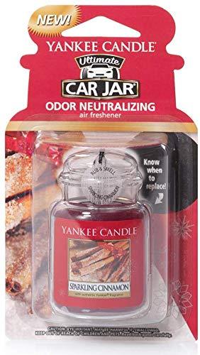 3 X Car Freshener, Car Jar Ultimate, Sparkling Cinnamon