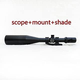 Secozoom 4-50x75mm Long Range Sights ED Verre Port/ée lat/érale Rifle Port/ée avec tube et monture Sunshade