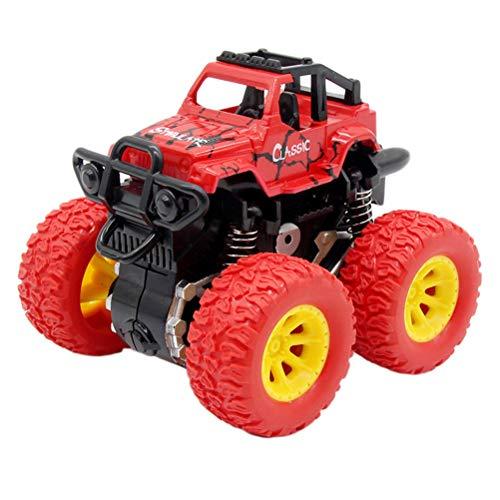 Yissma Monster Trucks - Coche Giratorio para niños, Juguete de fricción, Todoterreno, Modelo Inertial, Juguete para niños