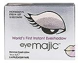 Eye Majic - Sombra de ojos instantánea - Maquillaje profesional en 10 segundos - Pack de 5 - Smokey Eyes - 001