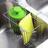Kitchen Sponge Holder, Aiduy Sink Caddy Brush Soap Dishwashing...