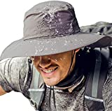 Cooltto Sun Hats for Men/Women with UPF 50+ UV Protection, Wide Brim Waterproof Breathable for Cycling, Fishing, Hiking, Golf, Climbing, Safari, Boating, Gardening and Other Sports