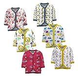 NammaBaby Baby Boys' & Baby Girls' T-Shirt (Pack of 6)