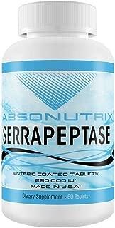 Absonutrix Serrapeptase 250,000 IU Enteric Coated 60 Tabs Enzymes
