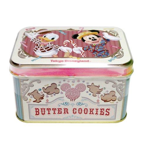 ミッキー&フレンズ 缶入りクッキー バタークッキー お菓子 【東京ディズニーリゾート限定】
