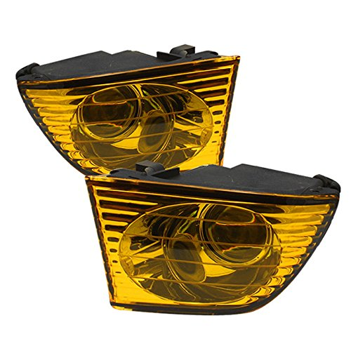 For 01-05 Lexus IS Altezza XE10 Yellow Amber Lens Projector Fog Light Direct Replacement W/Wiring