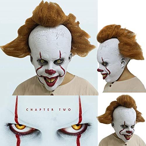 2019 Halloween Stephen King's It: Kapitel 2 Pennywise Clown Cosplay Maske Requisiten Latex Vollgesicht