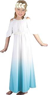 GREEKS GODDESS CHILDREN/'S COSTUME FOR FANCY DRESS GREEK ROMAN TOGA