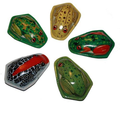 Superfreak® 1 x Knacktier°Blechspielzeug°Tiere aus Blech°Knack Frosch