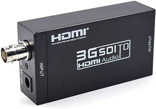 SDI to HDMI Converter Adapter Mini 3G HD Sdi Hdmi Adapter for SD-SDI, HD-SDI and 3G-SDI signals
