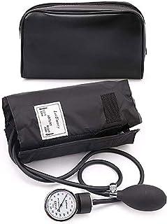 فشارسنج فشار خون سنجی Aneroid - لپ تاپ کابین فشار خون فشار دستی با پرونده زیپ، FDA تایید شده، 10-16 اینچ