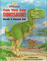 CAN U SAY DINOSAUR-B/P (Learning Ladders/Yellow Ladder) 0394899571 Book Cover