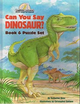 Hardcover Can You Say Dinosaur? Book