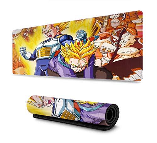 Alfombrilla de Goma Antideslizante para Ratones, diseño Personalizado para PC, Ordenador portátil, para Ball Dragon z Kakarot Super Z Son Goku, Alfombrilla para ratón