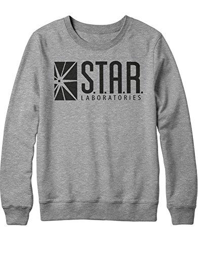 Sweatshirt S.T.A.R. Laboratories DC C777666 Grau M