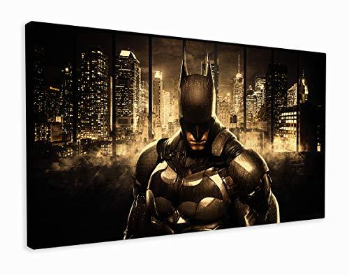 M2M Prints Kunstdruck auf Leinwand, Motiv: Batman Arkham Knight, 50,8 x 30,5 cm