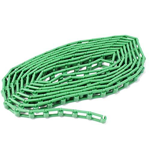 BeMatik - Groene plastic ketting voor studio achtergrondwinder