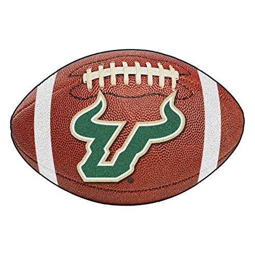 FANMATS NCAA University of South Florida Bulls Fußball-Teppich aus Nylon