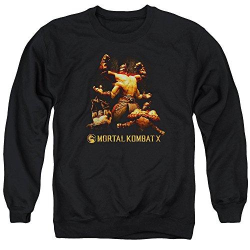 Mortal Kombat - - Goro Pull pour hommes, Large, Black