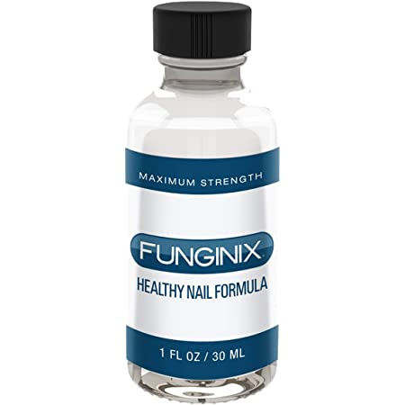 FUNGINIX Healthy Nail Formula - Finger and Toe Fungus Treatment, Made in USA, Eliminate Fungal Infections, Maximum Strength Solution (1 Fluid Ounce)