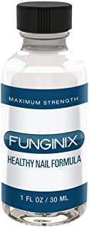 FUNGINIX Finger and Toe Treatment - Maximum Strength Solution, Eliminate Infections, Powerful & Effective (1 Fluid Ounce)