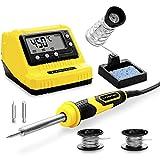 TROTEC Digitale Lötstation PSIS 10-230V 60 Watt Lötkolbe Set (200 – 450 °C) für Elektroniker...