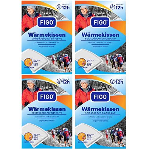 4er Pack Wärmekissen 12h, Wärmespender, Wellnesprodukt für Massage & Entspannung, sl, 3118