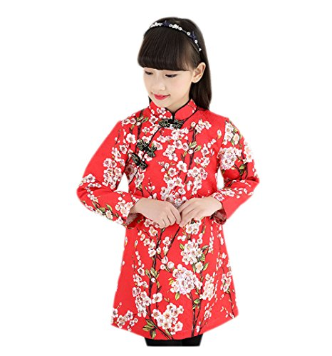 EXCELLANYARD Girl's Cheongsam Chinese Qipao Dress - http://coolthings.us