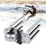 VULLDWS Wakeboarding Rack/Soporte/Torre de Barco Tiene 2 Wakeboards, Aluminio Pulido Torre de Wakeboarding, Base de ángulo Ajustable a Nivel con Barco, fácil instalación