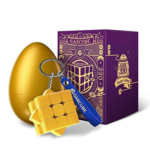 GAN 330 Edición Huevo de Pascua, Antiguo Rima Llavero Cubo Mini 3x3 Juguetes Regalo (Jade)
