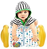 QINGBAO Baby Crawling Toy Fitness Toys Exercise Your Baby's Hearing and Touch Exercise Your Baby's Muscles and Coordination (Yellow)