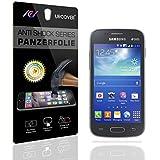 Urcover Galaxy Ace 3 Protector Pantalla, 9H Cristal Templado [Ultra HD Full Screen & Crystal Clear] Instalación Anti-Burbuja Anti-Scratch Samsung Galaxy Ace 3