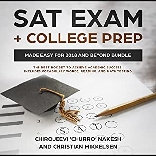 SAT Exam + College Prep Made Easy for 2018 and Beyond Bundle cover art