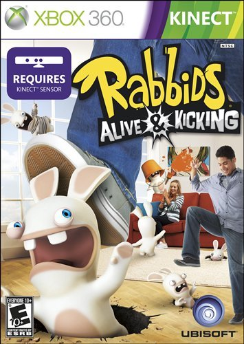 Ubisoft Raving Rabbids: Alive & Kicking, Xbox 360