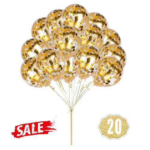 Gold Konfetti Ballons, Runde 12