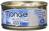 Monge Gatto Jelly Naturale Fil. Tonno/Pesce Bianco Gr. 80